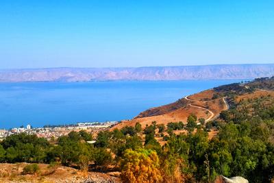 Sea of Galilee Photographic Print by  YossiAharon