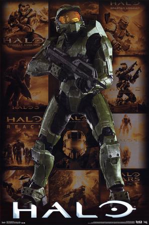 Halo - Key Art Grid Posters
