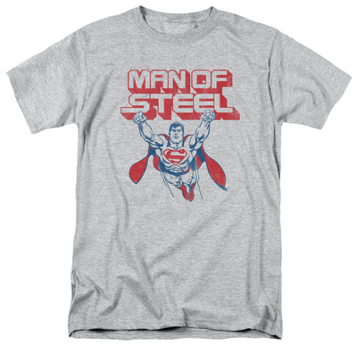 Superman - Steel Retro Shirt