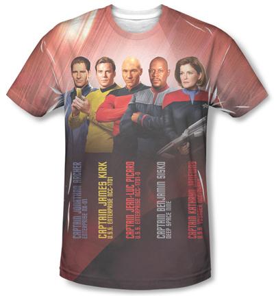 Star Trek - Captains Shirt