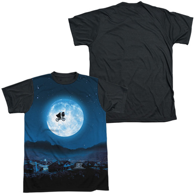 E.T. - Moon Black Back Shirt
