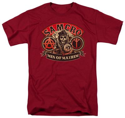 Sons Of Anarchy – Men Of Mayhem T-shirts