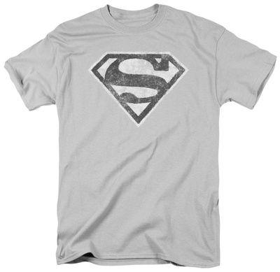 Superman - Grey S T-shirts