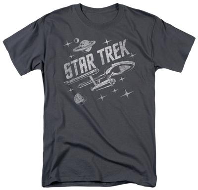Star Trek - Through Space T-shirts
