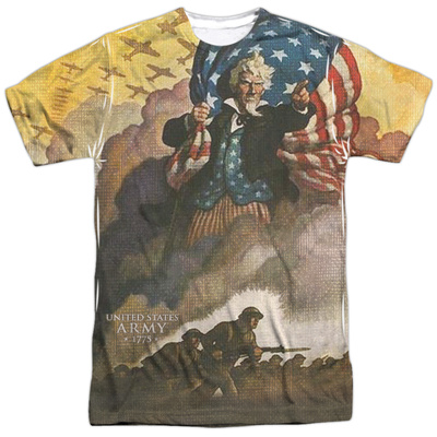 Army - Vintage Poster Sublimated