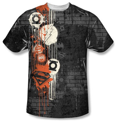 Justice League - Oh The Urbanity Sublimated