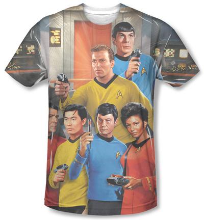 Star Trek - Bridge T-shirts!