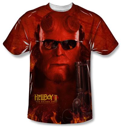 Hellboy II – Big Red T-shirts