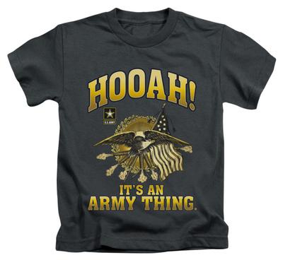 Juvenile: Army - Hooah T-Shirt