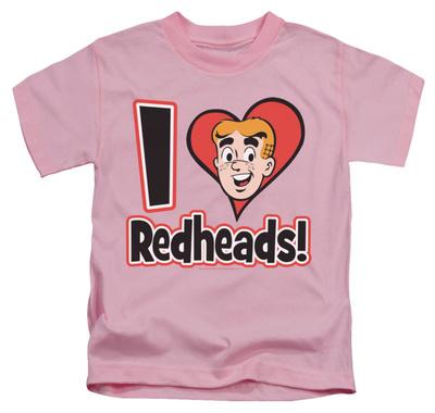 Juvenile: Archie Comics – I Love Redheads T-Shirt