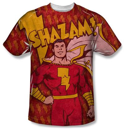 Shazam - Shazam Bolts Shirts!
