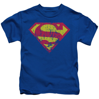 Juvenile: Superman - Classic Logo Distressed T-shirts