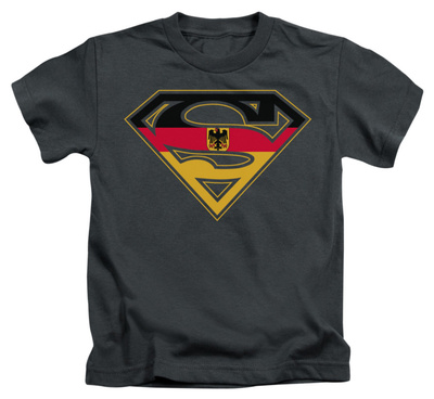 Juvenile: Superman - German Shield T-Shirt