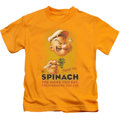 Juvenile: Popeye - Spinach Retro T-shirts