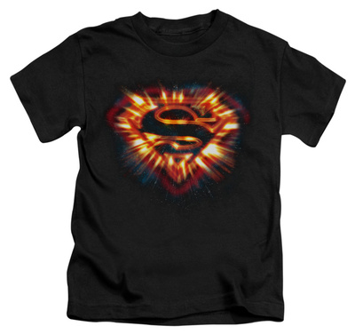 Juvenile: Superman - Space Burst Shield T-shirts