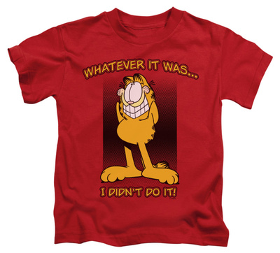 Juvenile: Garfield - I Didn't Do It Shirt
