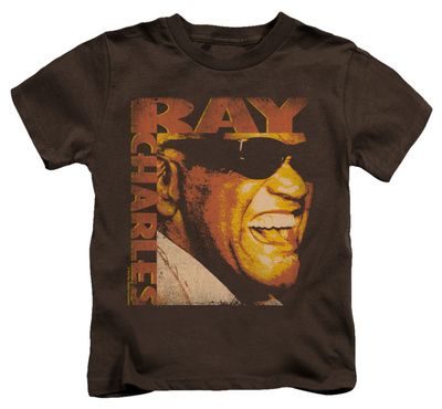 Juvenile: Ray Charles - Singing Distressed T-shirts