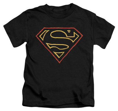Juvenile: Superman - Colored Shield Shirts