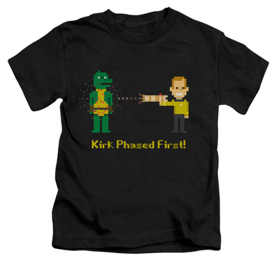 Juvenile: Star Trek - Kirk Phased First Shirts