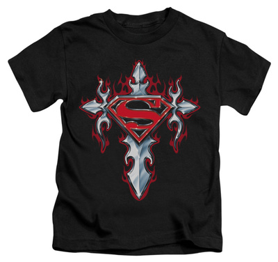 Juvenile: Superman - Gothic Steel Logo T-Shirt