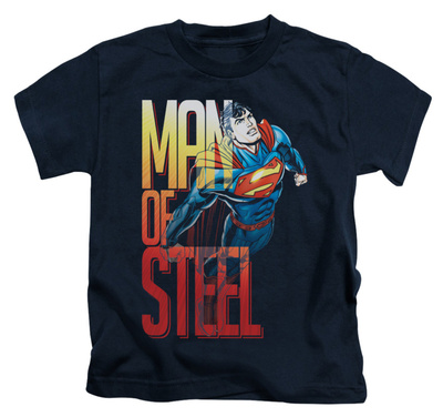 Juvenile: Superman - Steel Flight T-shirts