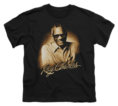 Youth: Ray Charles - Sepia T-shirts