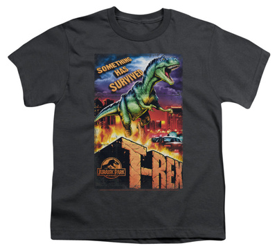 Youth: Jurassic Park - Rex In The City T-shirts