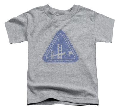 Toddler: Star Trek - Distressed Logo T-shirts