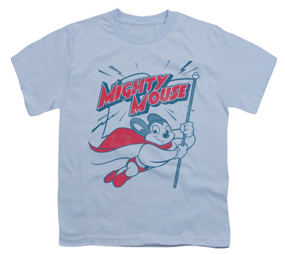 Youth: Mighty Mouse - Mighty Flag T-shirts