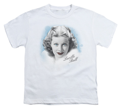 Youth: Lucille Ball - In Blue T-shirts