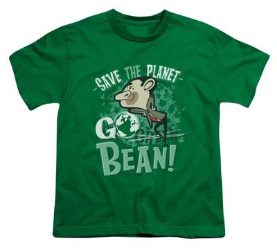 Youth: Mr Bean - Go Bean T-Shirt