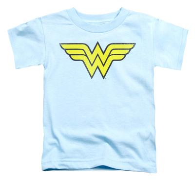 Toddler: Wonder Woman – Wonder Woman Logo Distressed T-Shirt