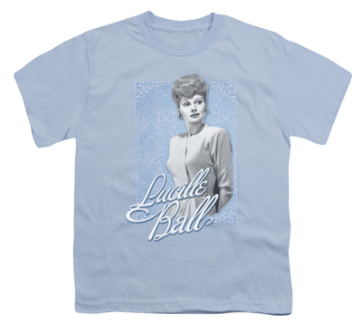 Youth: Lucille Ball - Blue Lace Shirts