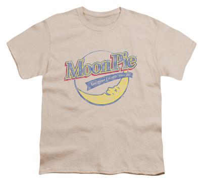 Youth: Moon Pie - Distressed Retro Logo Shirts