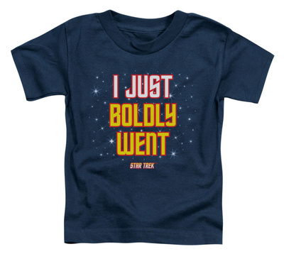 Toddler: Star Trek - Boldly Went Shirts