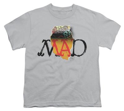 Youth: Mad Magazine - Torn Logo T-Shirt