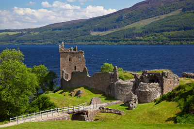Urquhart Castle Photographic Print by  zastavkin