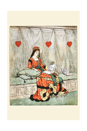 Queen of Hearts She Made Some Tarts Prints by Randolph Caldecott