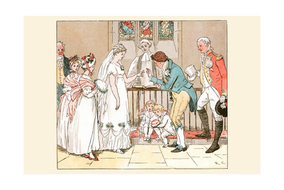 She Then Married the Barber Art by Randolph Caldecott