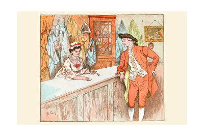 Mrs. Blaize Always Lent to the Poor from Her Pawn Shop Posters by Randolph Caldecott
