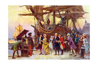 Franklin's Return to Philadelphia Print by Jean Leon Gerome Ferris