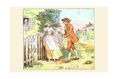 Romance at the Gate Posters by Randolph Caldecott