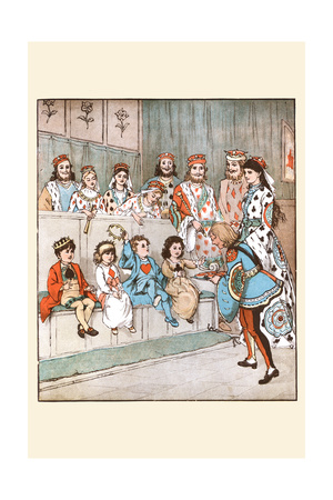 Knave of Hearts Brought Back Those Tarts Posters by Randolph Caldecott
