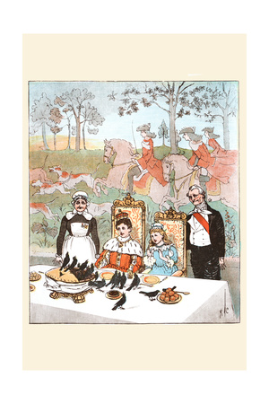Wasn't it a Dainty Dish to Set before the King Prints by Randolph Caldecott