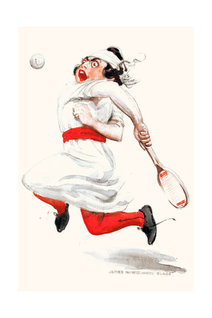 Tennis Player Posters by James Montgomery Flagg