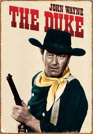 John Wayne Duke Tin Sign Tin Sign
