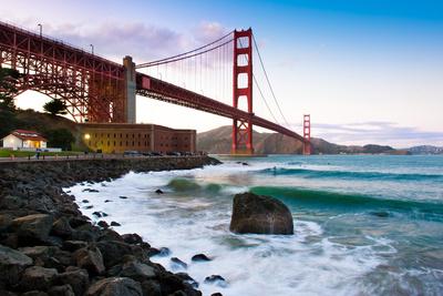 Classic Golden Gate Bridge Photographic Print by Photo by Alex Zyuzikov