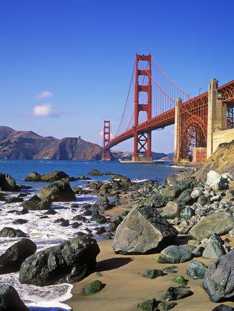 Golden Gate Bridge, San Francisco, California Photographic Print by Hans-Peter Merten