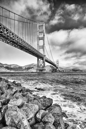 Golden Gate Bridge, California, Usa, Photographic Print by Emmanuel Aguirre