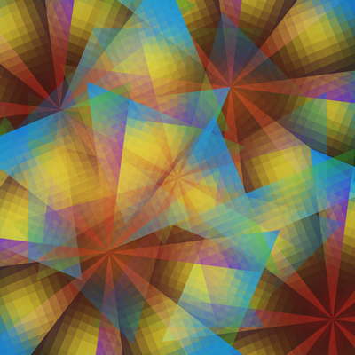 Kaleidoscopic Composition Photographic Print by Paul Taylor